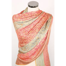 Scarf With Paisley Design