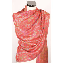 Scarf In Red With Design