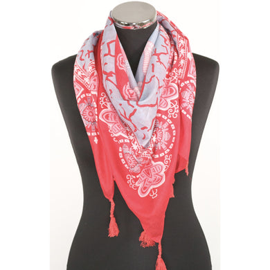 Pure Cotton Square Scarf