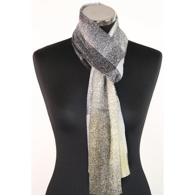 Pure Silk Scarf With Dots