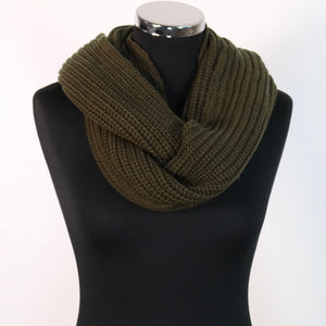 Khaki neck warmer /snood