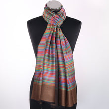 Striped Modal Scarf