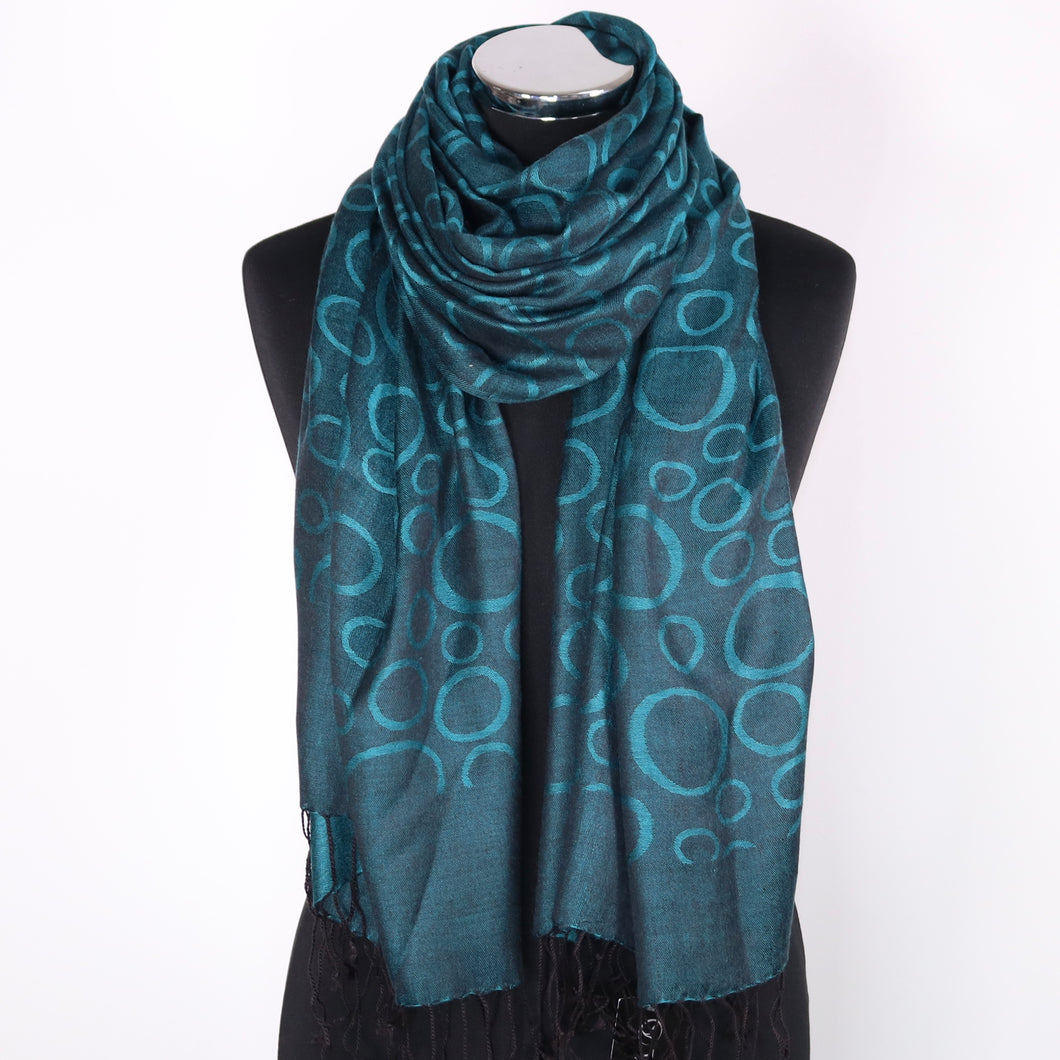 Reversible Scarf  - Green