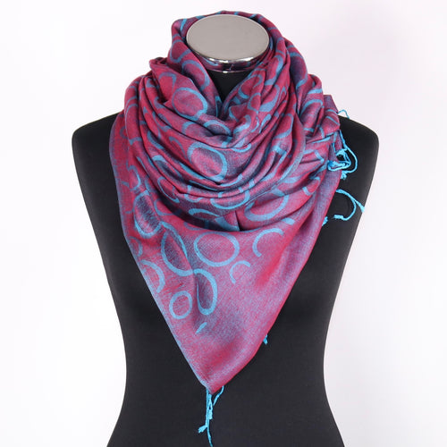 Reversible Scarf - Pink & Blue