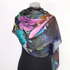 Scarf With Digital Print