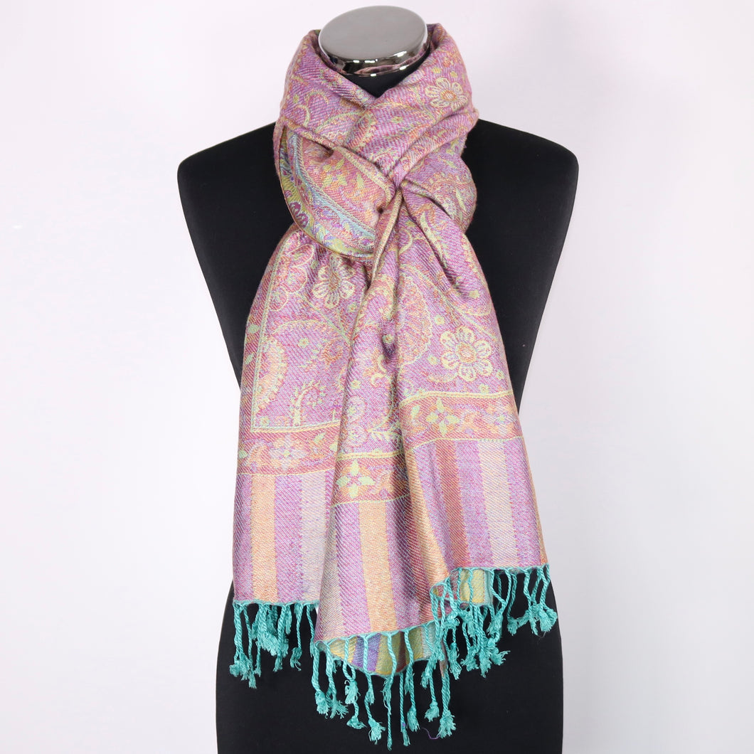 Scarf With Floral Design