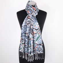 Royalty Scarf-Elephant Print