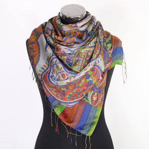 Amelie Scarf- Abstract Print