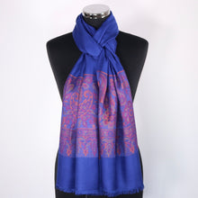 Reversible Scarf With Border
