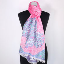 Modal Scarf With Butterfly Design
