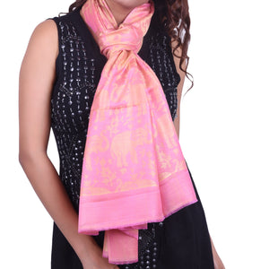 Modal Scarf With Elephant Design