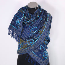 Boiled Wool Scarf/Wrap