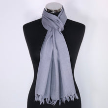 Men's wool scarf