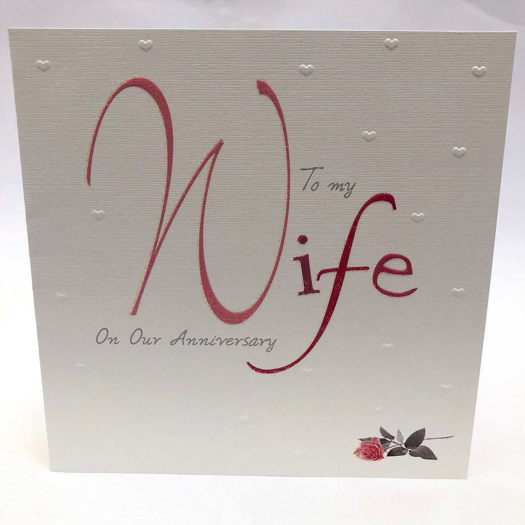 Wife on Anniversary Card