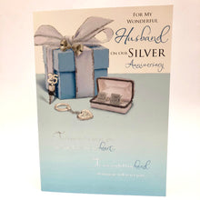 Silver Anniversary for Husband Card