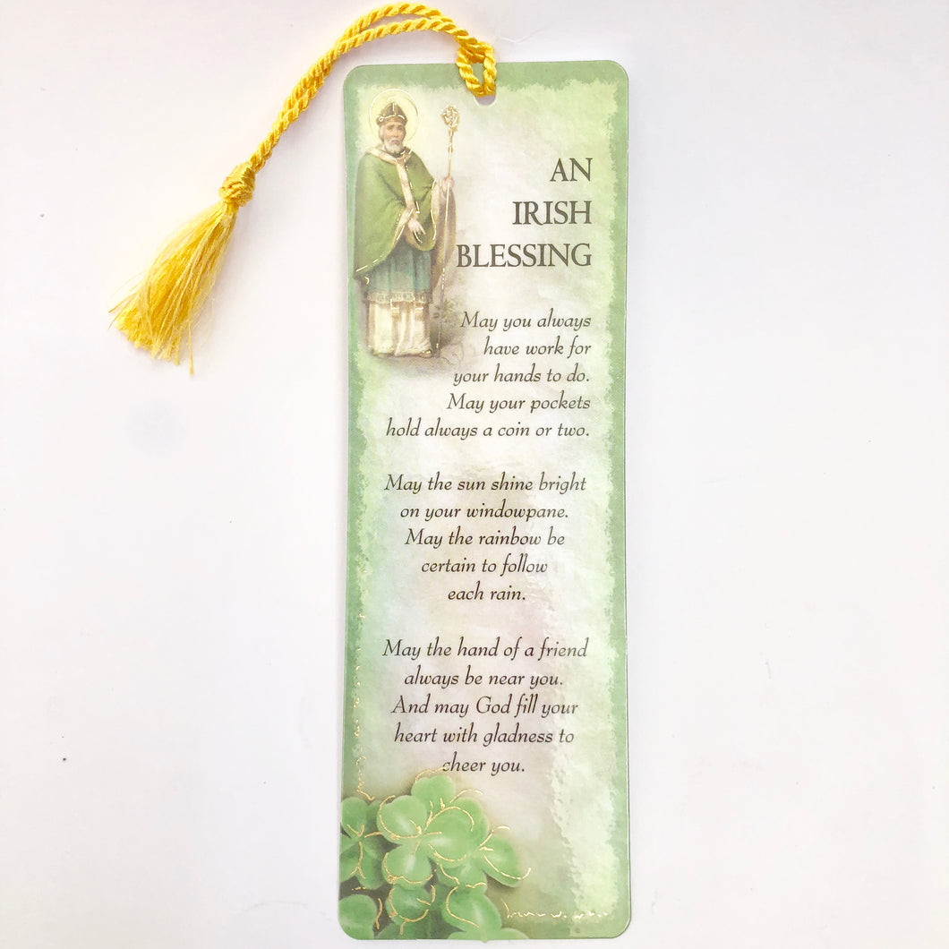 Irish Blessing Bookmark