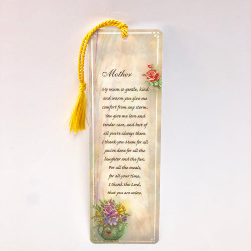 Mother Thank You Bookmark