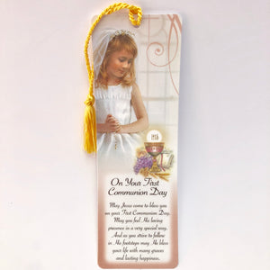 First Holy Communion Girl Bookmark