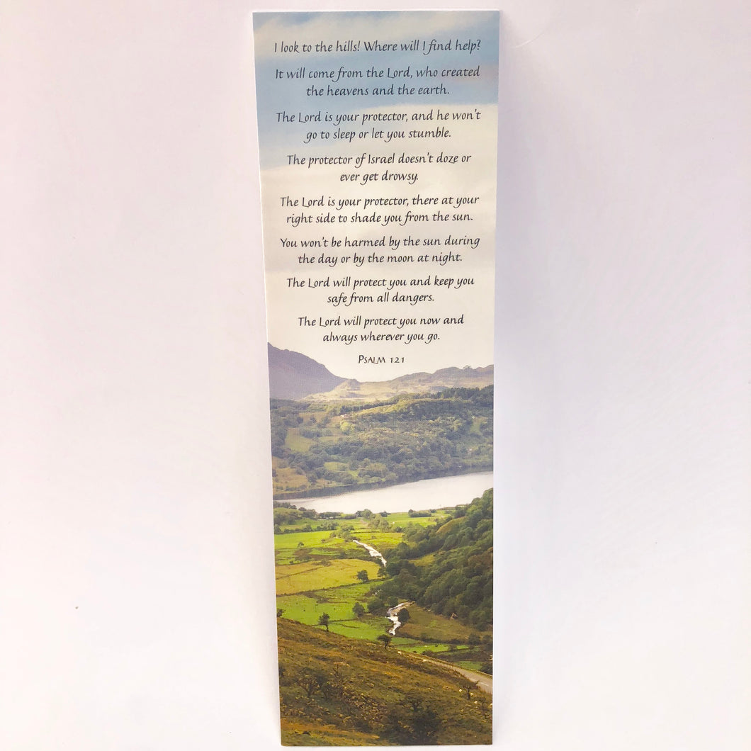Psalm 121 Bookmark