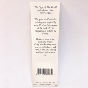 The Light of the World Bookmark
