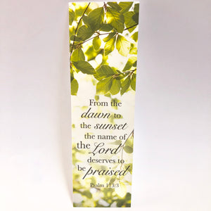 Psalm 113:3 Bookmark