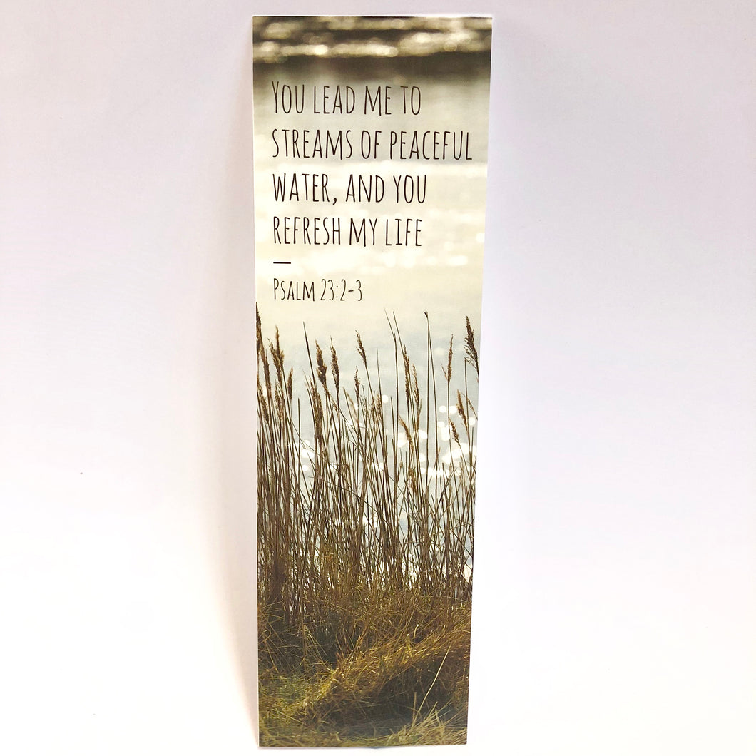 Psalm 23:2-3 Bookmark