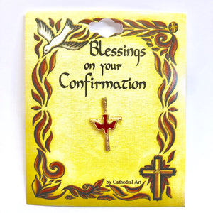 Confirmation Blessing Pin