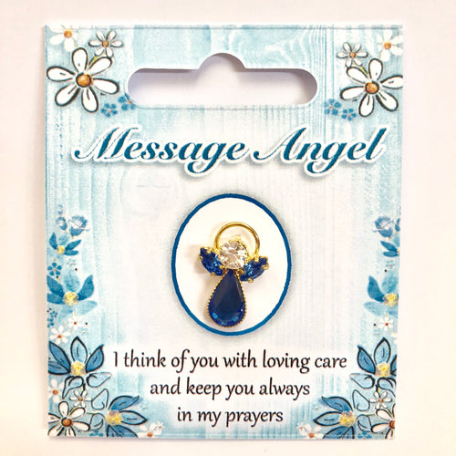 Message Angel Pin