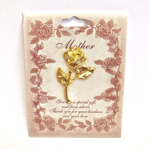 Mother Rose Pin
