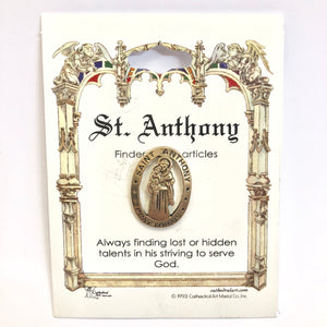 St Anthony Pin