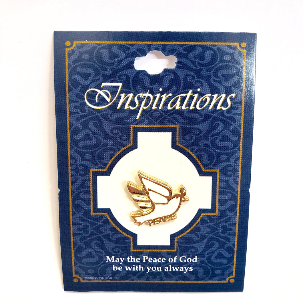 Inspirations Dove Pin