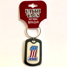 Faith Tag Keyring