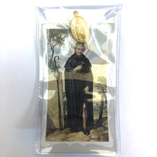 St Peregrine Prayer Card and Medal
