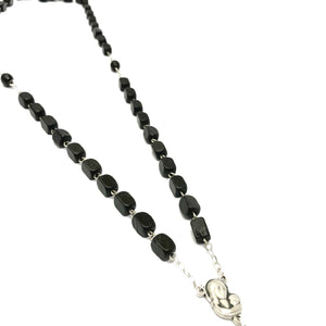 Black Wooden Rosary