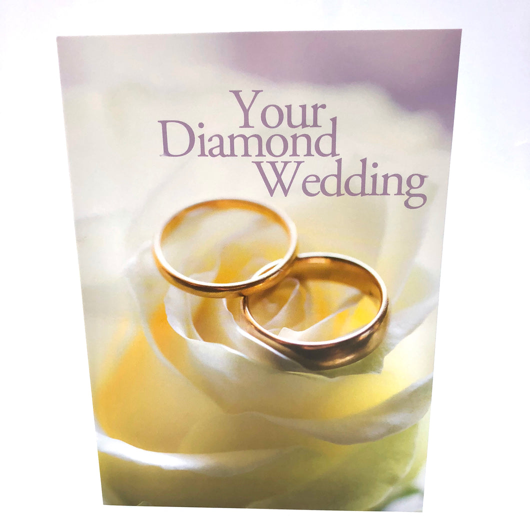 Diamond Wedding Ring Card