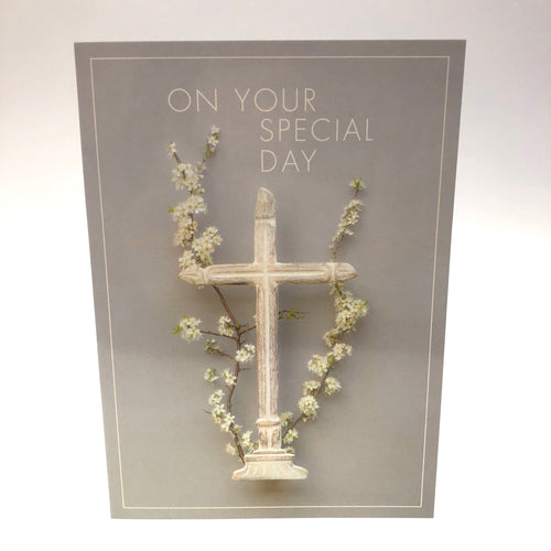 Religious Occasion Cross Card