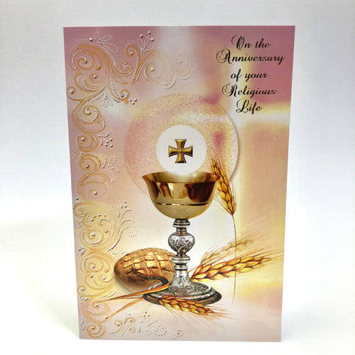 Religious Life Anniversary Card