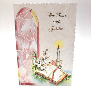 40th Jubilee Card