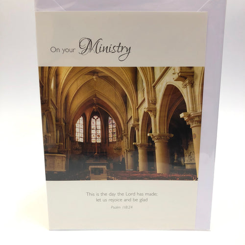 On Your Ministry Card