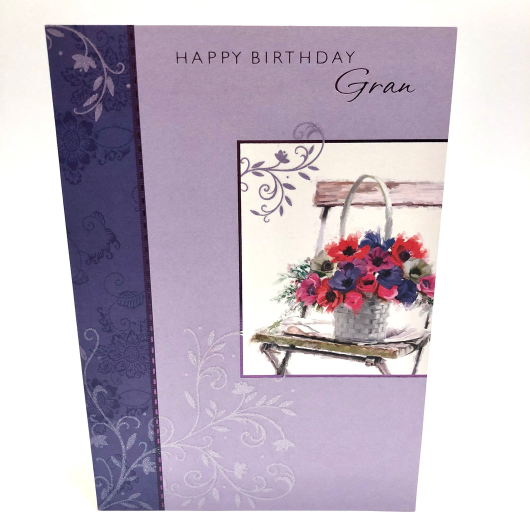 Happy Birthday Gran Card
