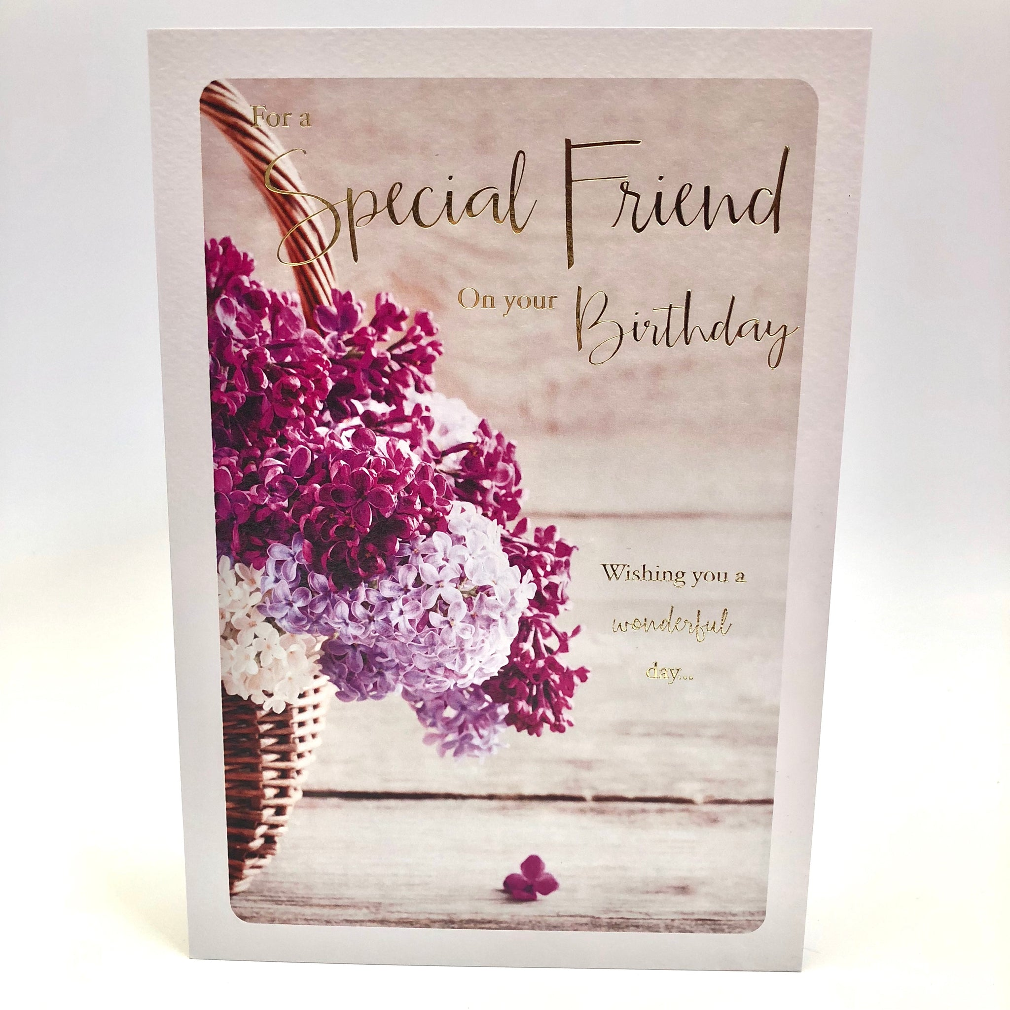 Special friend flowers birthday card rainbow bookshop swindon special friend flowers birthday card izmirmasajfo