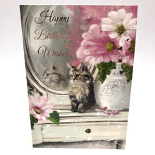 Cat Birthday Card