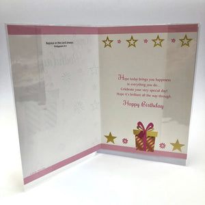 Happy Birthday Present Card
