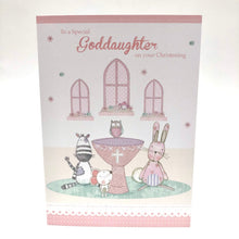 Goddaughter Christening Card