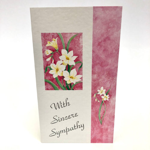 Sincere Sympathy Small Card