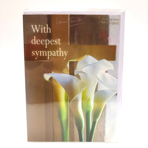 Deepest Sympathy Lily Card