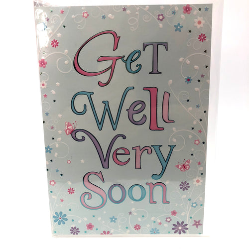 Get Well Very Soon Card