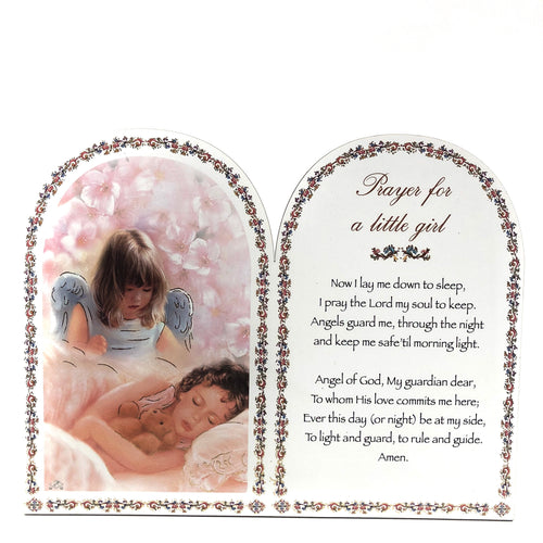 Girl Prayer Plaque
