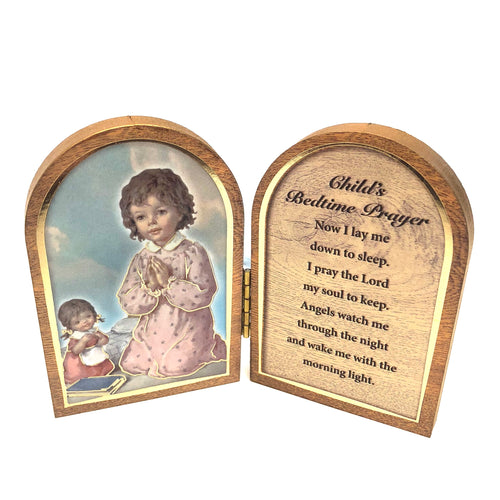 Childs Bedtime Prayer Wooden Plaque