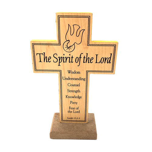 Spirit of the Lord Wooden Cross